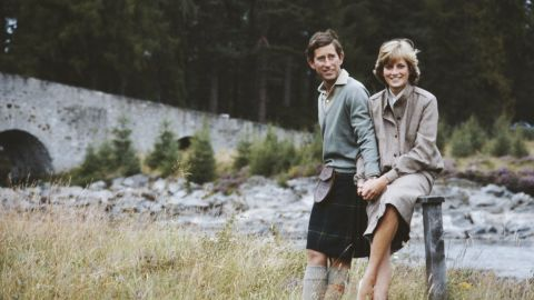 The couple spends part of their honeymoon in Scotland.