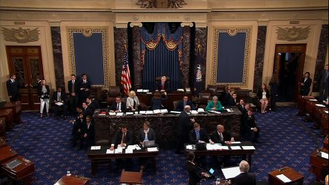 The Senate prepares for a vote on the motion to proceed