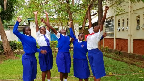 """Five Kenya teenage girls created an app called i-Cut, designed to connect girls affected by Female Genital Mutilation (FGM) to legal and medical assistance.<br /><br /><a href=""""https://edition.cnn.com/2017/07/28/africa/kenyan-girls-fgm-app/index.html"""" target=""""_blank"""">Read more</a> about it here."""