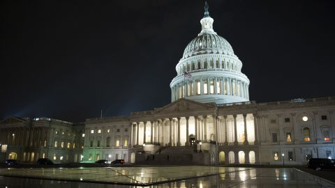 """The Capitol stays open as the Republican majority in Congress remains stymied by their inability to fulfill their political promise to repeal and replace """"Obamacare"""", because of opposition and wavering within the GOP ranks, on Capitol Hill in Washington, Thursday, July 27, 2017."""