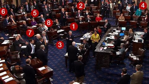 senators react mccain