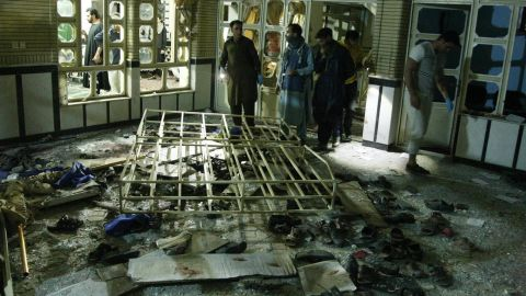 ISIS claimed responsibility for Tuesday's suicide bombing at the Shiite mosque in Herat.