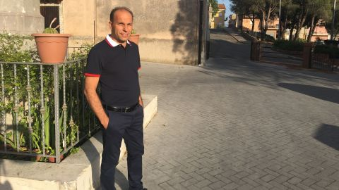 Giorgio Scimeca says he won't pay protection money to the Sicilian mafia.