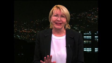 Venezuela's Attorney General Luisa Ortega Diaz
