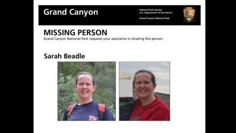 Beadle was reported missing Tuesday.