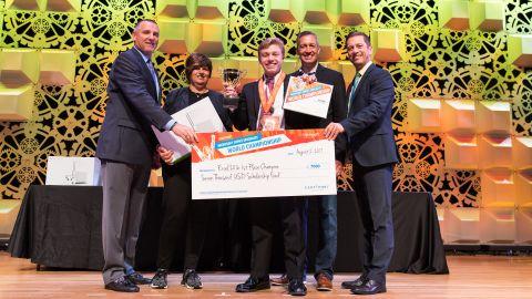 John Dumoulin won $7,000 and an Xbox.
