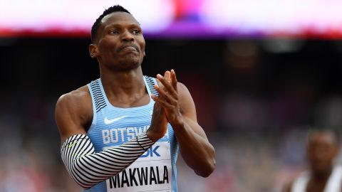 Isaac Makwala of Botswana
