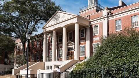 Business school students at the University of Georgia will not get to grade themselves.