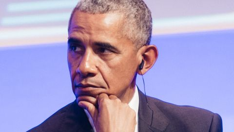 BADEN-BADEN, GERMANY - MAY 25: Former US president Barack Obama is seen during the German Media Award 2016 (Deutscher Medienpreis 2016) at Kongresshaus on May 25, 2017 in Baden-Baden, Germany. The German Media Award (Deutscher Medienpreis) has been presented annually since 1992 to honor personalities from public life. (Photo by Alexander Scheuber/Getty Images)