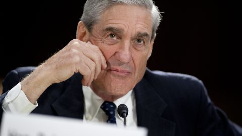Federal Bureau of Investigation (FBI) Director Robert Mueller testifies before the US Senate Judiciary Committee on oversight during a hearing on Capitol Hill in Washington, DC, June 19, 2013. AFP PHOTO / Saul LOEB        (Photo credit should read SAUL LOEB/AFP/Getty Images)