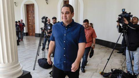 Nicolas Maduro Guerra, son of Venezuelan President Nicolas Maduro.