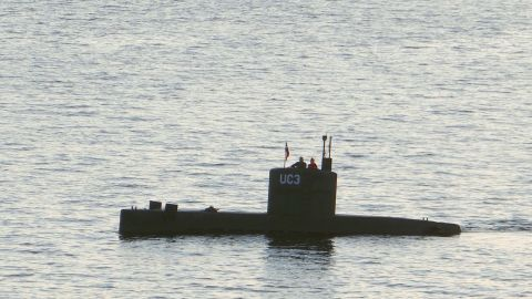 """Swedish journalist Kim Wall is alleged to have stood next to a man in the tower of the private submarine """"UC3 Nautilus"""" on August 10 in Copenhagen Harbor."""