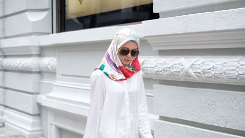 """The dUCk website nearly crashed when the scarves went on sale. """"People were so excited because (this type of collaboration) has never been done before,"""" Yusof says. """"It's not normal in Brunei for a princess to collaborate with a fashion brand, right?"""""""