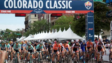 The Colorado Classic consisted of four days and some of the best racers in world lapping through the downtowns of three cities, starting with Colorado Springs.
