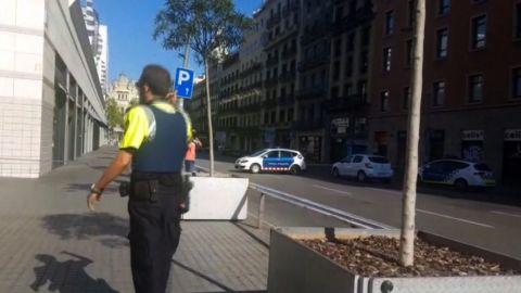 Barcelona car attack