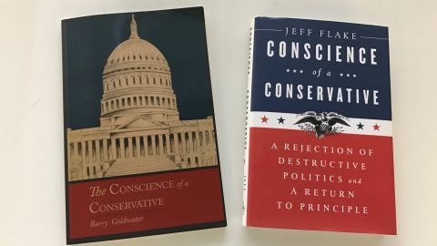 Books by Barry Goldwater and Jeff Flake