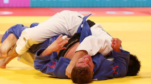 """Literally meaning """"gentle way,"""" judo techniques harness an opponent's force to your own advantage by throwing and pinning them to the ground."""