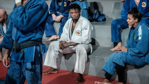 """Having grown up amid the five-year civil war in the Democratic Republic of Congo, Misenga sought asylum — without a passport, money or food — in Brazil after the 2013 World Championships in Rio. Three years later, he competed at the Olympics in the same city. """"My life really changed after the Olympics,""""<a href=""""https://edition.cnn.com/2017/08/21/sport/popole-misenga-refugee-judoka-rio-judo-world-championships/index.html""""> Misenga</a>, a member of the <a href=""""https://edition.cnn.com/2017/08/08/sport/olympic-refugee-team-where-are-they-now-mardini-misenga-pur-biel-lokoro-nathike-loroupe-rio-2016/index.html"""">Rio 2016 Refugee Olympic Team</a> (ROT), told CNN. """"I have a good life now. I don't need to worry every day if I can feed my family."""""""