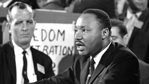 The Rev. Martin Luther King Jr. once said  moderate whites who refused to take a stand on racial justice angered him more than the KKK.