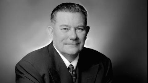 Tom Yawkey, pictured in 1956.