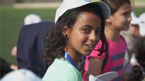 Children from Gaza were excited to visit Jerusalem for the first time.