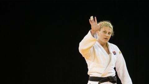 """Harrison is a two-time Olympic champion who, at London 2012, became the sport's first American Olympic gold medalist. Four years later, in Rio, she retained her title. """"Judo saved my life,"""" Harrison wrote in <a href=""""https://edition.cnn.com/2017/08/21/sport/kayla-harrison-judo-world-championships-budapest/index.html"""">an exclusive CNN Sport column</a>. """"The sport gave me a goal, gave me something to wake up for. If I didn't have that when I was a teenager, I might not even be here."""""""