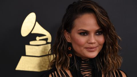 """Chrissy Teigen<a href=""""http://www.cosmopolitan.com/health-fitness/a12041473/chrissy-teigen-alcohol/"""" target=""""_blank"""" target=""""_blank""""> told Cosmopolitan in a story published in August</a> that she was, """"point blank, just drinking too much."""" The model, who is married to singer John Legend, also revealed that there is a history of alcohol abuse in her family."""