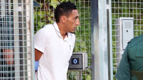 Another suspect, Driss Oukabir, is taken into Madrid's High Court on Tuesday.