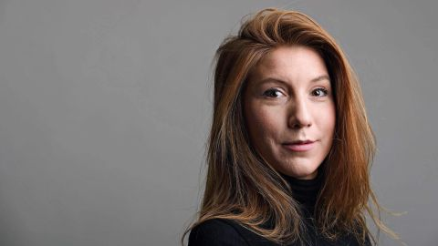 This family handout photo released on August 12, 2017 shows Swedish journalist Kim Wall.