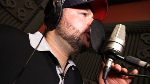Todd wants his hip-hop album to help other veterans with PTSD.