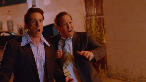 """<strong>""""Real Rob"""" Season 2:</strong> Rob Schneider created and stars in a series built around his real life in Hollywood. <strong>(Netflix) </strong>"""