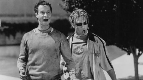 """<strong>""""Bio-Dome"""": </strong>Pauly Shore and Stephen Baldwin star in this 1996 comedy about a pair of friends who accidentally get locked into a scientific experiment  for a year. <strong>(Amazon Prime, Hulu) </strong>"""