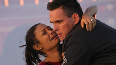 """<strong>""""Crash"""":</strong> This Oscar-winning film, which followed several characters with interwoven stories, stars Thandie Newton and Matt Dillon as part of an ensemble cast. <strong>(Hulu) </strong>"""