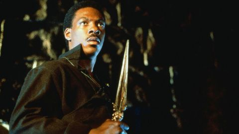 """<strong>""""Golden Child"""":</strong> Eddie Murphy stars as a man told he must find a special child in order to save all of humanity. <strong>(Amazon Prime, Hulu) </strong>"""