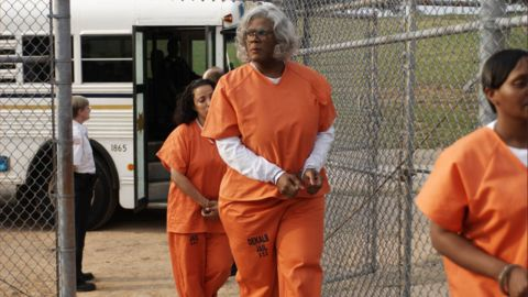 """<strong>""""Tyler Perry's Madea Goes to Jail"""":</strong> Tyler Perry revives his beloved character as Madea heads to jail after a high speed chase with police. <strong>(Hulu) </strong>"""