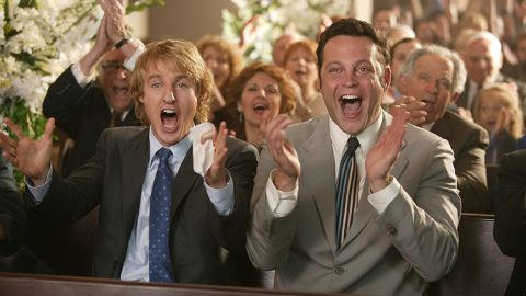 """<strong>""""Wedding Crashers"""": </strong>Owen Wilson and Vince Vaughn star in this 2005 romantic comedy about a pair of friends who crash weddings to meet women.<strong> (Amazon Prime) </strong>"""