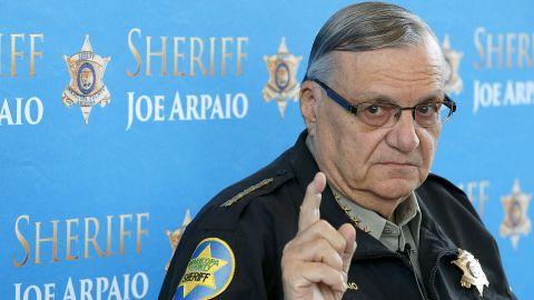 "President Donald Trump <a href=""http://www.cnn.com/2017/08/25/politics/sheriff-joe-arpaio-donald-trump-pardon/index.html"" target=""_blank"">pardoned  controversial former Arizona sheriff Joe Arpaio</a> on Friday, August 25. Arpaio was <a href=""http://www.cnn.com/2017/07/31/us/arpaio-found-guilty/index.html"" target=""_blank"">convicted of criminal contempt</a> in July for disregarding a court order in a racial profiling case."