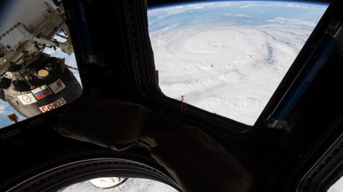 NASA astronaut Jack Fischer photographed Hurricane Harvey from the International Space Station.