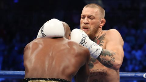 McGregor might have lacked in experience, but he had a clear size advantage.