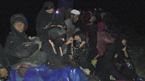 Bangladesh said thousands of Rohingya had fled to its border.
