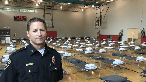 Irving chief of police Jeff Spivey says they're preparing for the arrival of the first evacuees.