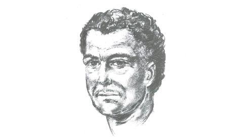 An artist's impression of the man who shot Mr Al-Ali.