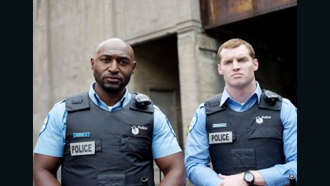 """<strong>""""19-2"""" Season 4:</strong> Adrian Holmes and Jared Keeso star as partners in the Montreal Police Department in this Canadian drama. <strong>(Acorn TV) </strong>"""