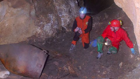 Researches found a Copper Age storage jar in a cave in Sicily that tested positive for wine.