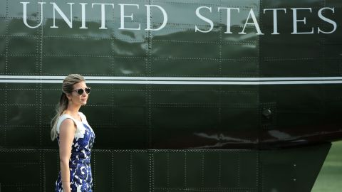 WASHINGTON, DC - AUGUST 30:  Ivanka Trump, advisor and daughter of U.S. President Donald Trump, walks across the South Lawn after returning to the White House August 30, 2017 in Washington, DC. Trump traveled with her father to Springfield, Missouri, to participate in a tax reform kickoff event, according to the White House.  (Photo by Chip Somodevilla/Getty Images)