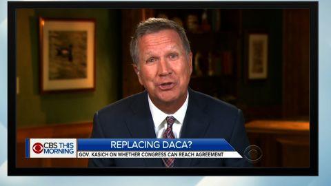 Kasich DACA CBS