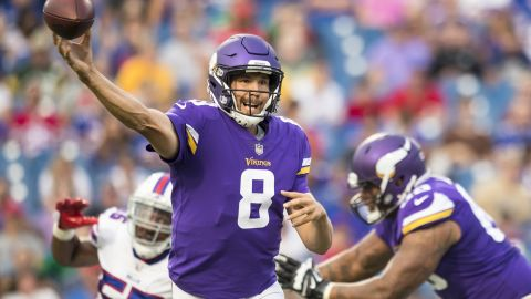 After six mostly disappointing seasons in St Louis and Philadelphia, the first overall pick of the 2010 draft has finally found a home. Although Minnesota did not qualify for the playoffs with an 8-8 record, Sam Bradford was mostly error-free, throwing 20 touchdowns and just five interceptions on his way to an excellent 99 passer rating in 2016.