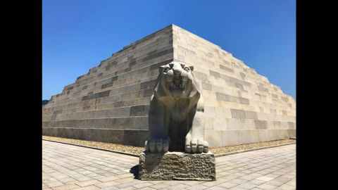 The Mausoleum of Tangun is said to hold the remains of the ancient King Tangun -- widely considered a mythical figure. <br /><br />North Korea built the pyramid in 1994 and has not allowed outside experts to verify the remains inside.