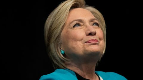 """NEW YORK, NY : Former U.S. Secretary of State Hillary Clinton signs copies of her new book """"What Happened"""" during a book signing event at Barnes and Noble bookstore September 12, 2017 in New York City. Clinton's book, which focuses on her 2016 election loss to President Donald Trump, goes on sale today. (Drew Angerer/Getty Images)"""