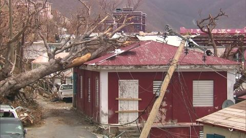 Five people died in the BVI during Irma while 39 people lost their lives throughout the Caribbean.